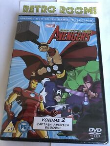The Avengers - Earth's Mightiest Heroes: Volume 2 DVD - New and Sealed