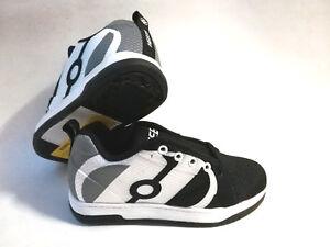 Heelys Repel Schuhe mit Rollen Sneakers black charocoal white Gr.39