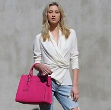 SALE WAS $299 - Anita Large Tote- Pink- Womans Bag- Genuine Leather