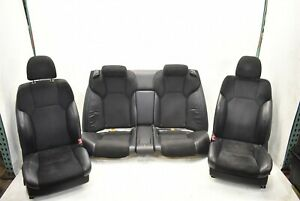 2006-2013 Lexus IS F Seat Set Front And Rear Factory OEM Seats 06-13
