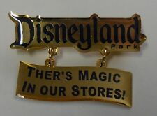 Disney Pin DLR There's Magic In Our Stores! (Dangle) Pin