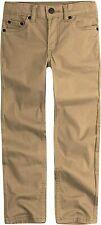 Levi's Boys' 511 Slim Fit Soft Brushed Pants Tan Size 12 (26W x 26L) New