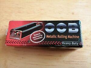 OCB Regular Size Metal Rolling Machine Heavy Duty Cigarette Tobacco Roller