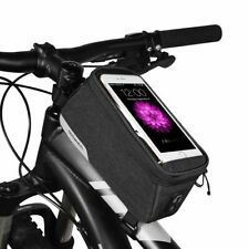 ROSWHEEL BIKE MOBILE PHONE HOLDER FRAME BAG large Galaxy Note iPhone 6 7 8+ plus