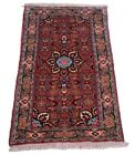 Bidjar 105 X 60 CM Durable Hand-Knotted Orient Carpet oriental