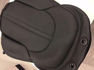 4H0881805T25D 2010-2016 AUDI A8 LEFT FRONT UPPER SEAT COVER NEW BLACK