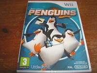 PENGUINS OF MADAGASCAR ** NEW & SEALED ** Nintendo Wii Game