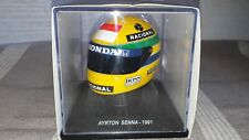 Ayrton Senna McLaren Casque Helmet 1991 Marlboro decals scale 1/5 no 1/8 no 1/2