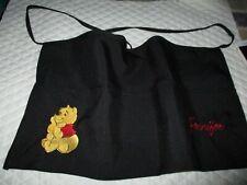 Pooh Bear Embroider Server Waitress Apron 3 Pocket Diner Name Free Lady Pizazz