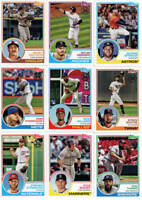 2018 Topps Series 1 & 2 '83 35th Anniversary Cards YOU PICK - Complete Your Set