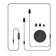 Plugfones Guardian Plus, Earplugs with Audio, Headphones, 26dB NRR