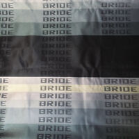 JDM BRIDE Front Rear Seat Cover Gradation Fabric Interior Fabric Cover 1M X1.6M