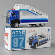 1:72 Scale Diecast Model Volvo Aircraft Boarding Truck Pull Back Toy Car