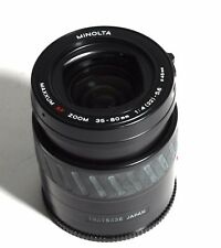 Minolta Maxxum AF Zoom f4-5.6 35-80mm Lens for Sony Alpha & 4/3 Digital Cameras
