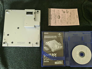Nintendo GameCube Gameboy Player - Silver - Japanese - includes disc and manual
