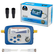 Digital HD Sat Finder SATFINDER Sat-finder LCD Display Kompass HDTV 3D + F-Kabel