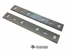 """6"""" inch Jointer Blades Knives for Shop Fox Bench Jointer model W1814, Set of 2"""