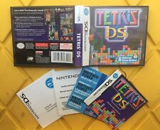 ❗️[!! NO GAME !!] TETRIS DS Nintendo DS [CASE & MANUAL ONLY!!!]❗️