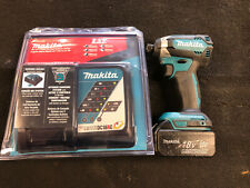 Makita XDT13 18V LXT Cordless Impact Driver With New Charger