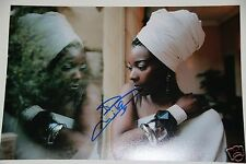 Concha Buika signed 20x30cm Foto Autogramm / Autograph  in Person