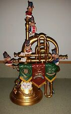 RARE Enesco Strike Up The Band Multi-Action Music Box