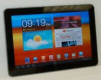 "Samsung Galaxy Tab GT-P7510 WiFi 10.1""HD  16gb Android Tablet Camera Bluetooth C"