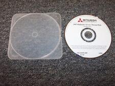 2005 Mitsubishi Outlander Shop Service Repair Manual DVD LS XLS Limited 2.4L