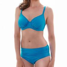 FANTASIE VERSAILLES CHINA BLUE UNDERWIRE FULL CUP BIKINI TOP & BRIEF 32E/10E / M