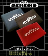 Sega Genesis model 1 system dust covers