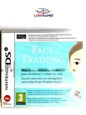 Face Training Nintendo DS PAL/SPA Precintado Videojuego Nuevo New Sealed Retro