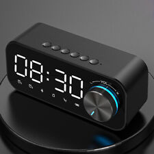 D11 Digital alarm clock Led smart wireless music player speaker electronic clock