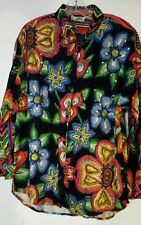 / COTTONEXPRESS Long sleeve MULTI COLOR FLORAL with embellishments  Long BLOUSE