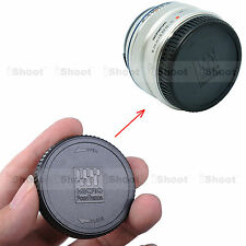 Rear Lens Cap Cover for Olympus M.Zuiko Digital 75-300/4.8-6.7, 60/2.8M, 8/1.8