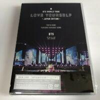 BTS WORLD TOUR 'LOVE YOURSELF' JAPAN EDITION (Regular Edition) 2 DVD SEALED