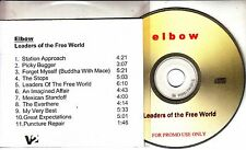 ELBOW Leaders Of The Free World 2005 UK 11-track promo test CD title sleeve