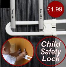 Child Baby Safety Cabinet Door Cupboard Drawer Handles Lock Childrens Security