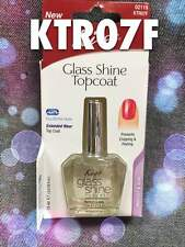 KISS GLASS SHINE TOP COAT FOR DRY BRITTLE NAILS EXTENDED WEAR ITEM# KTR07F