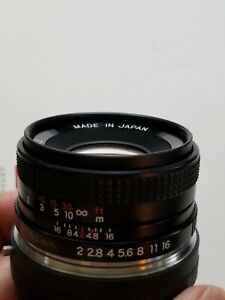 Contax Yashica Zeiss 50mm f/2.0  Lens for Sony Full Frame E-mount NEX Cameras