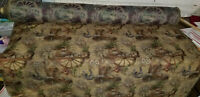 """ulphostery Fabric  vintage texas design, 54"""" wide, sold by yard"""