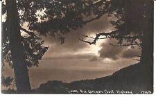 From the Oregon Coast Highway - RPPC - 1938