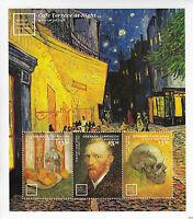 Grenada Grenadines 2014 MNH World Famous Paintings Van Gogh 3v M/S II Art Stamps