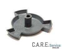 Supporto piatto microonde Whirlpool H20mm grigio 481246238161