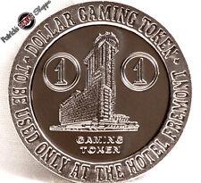 $1 PROOF-LIKE SLOT TOKEN HOTEL FREMONT CASINO 1966 FM MINT LAS VEGAS NEVADA COIN
