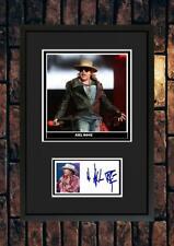 More details for (251) axl rose guns n roses signed mounted photograph framed unframed *********