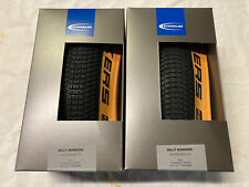 Pair Schwalbe 26 X 2.10 Folding Billy Bonkers Tan Wall Tyres