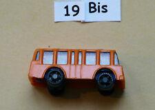 Kinder Autos BUSSE 2 - orange - COMPLET - T/BE - (19b)