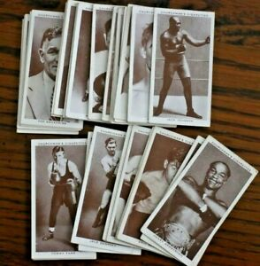 BOXING PERSONALITIES 1938, CHURCHMANS CIGARETTE CARDS,PICK THE CARD YOU REQUIRE