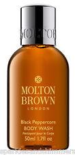 Molton Brown BLACK PEPPERCORN Pepper Corn Shower Gel BODY WASH 50ml TRAVEL SIZE