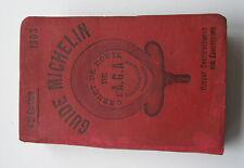 GUIDE MICHELIN 1903 TRES RARE