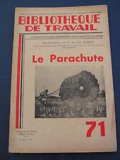 BT 71 1949 parachute parachutisme